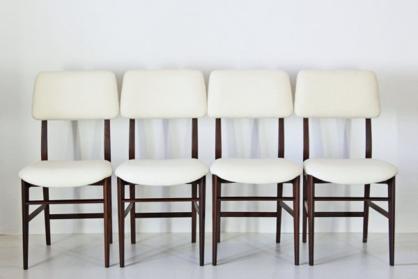 Set of 4 dining chairs by Vittorio Dassi, 1960s