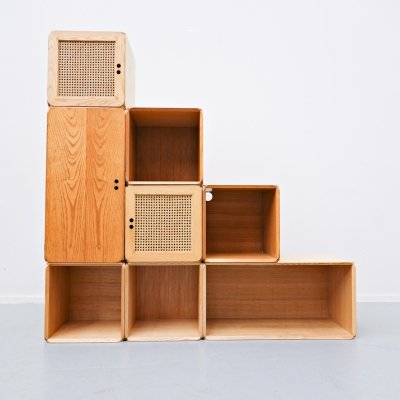 Derk Jan de Vries Modular Wall Unit, 1980s
