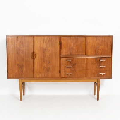 Danish highboard in teak, 1960s
