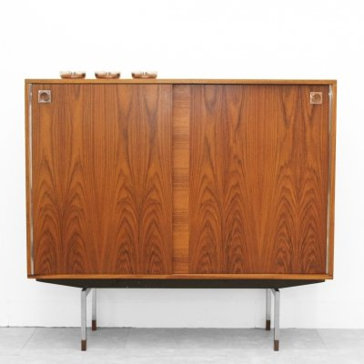 Barcabinet in rosewood by Oswald Vermaercke