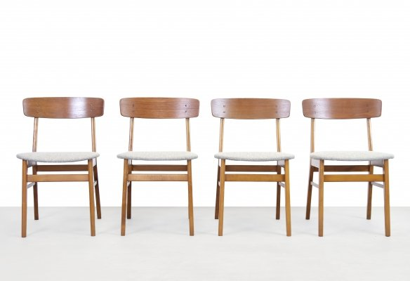 Set of 4 Farstrup dining chairs, 1970s