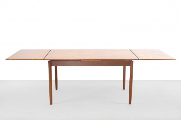 Extendable Danish design Teak dining table, 1960s