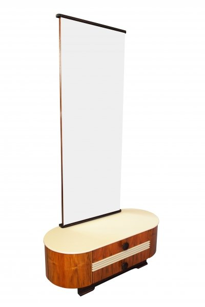 Mid Century Dressing Table by Jindrich Halabala for UP Brno, 1940s