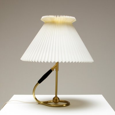 Le Klint 306 Wall or Table Lamp in Brass by Kaare Klint, Denmark 1960s