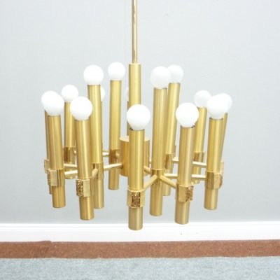 Chandelier by Angelo Brotto for Esperia, Italy 1960s