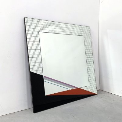 Wall Mirror by Eugenio Carmi, 1980s