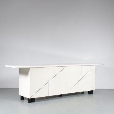 Pierre Cardin Sideboard for Aire Industrie, France 1980
