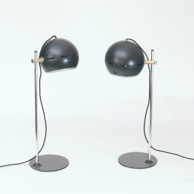 Pair of Italian 1960s table lamps
