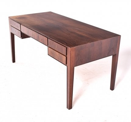 Rosewood Desk by Ole Wanscher by A. J. Iversen, 1950