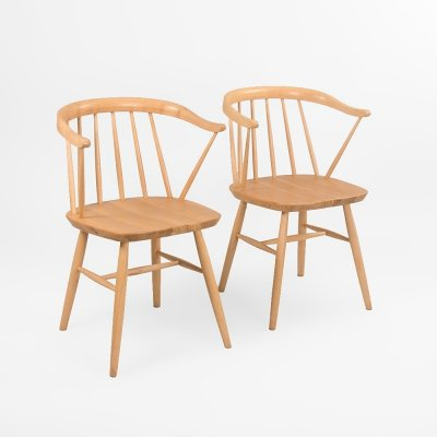 Set of 2 Danish chairs by Centa, Denmark 1970's