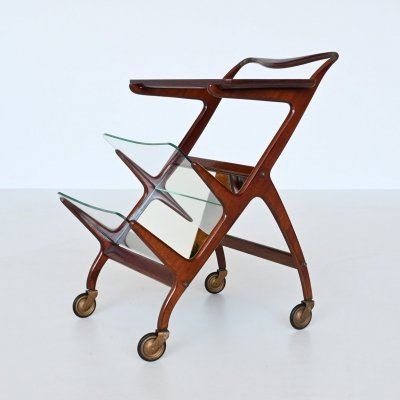 Ico Parisi model 65 serving trolley by Angelo Baggis, Italy 1950