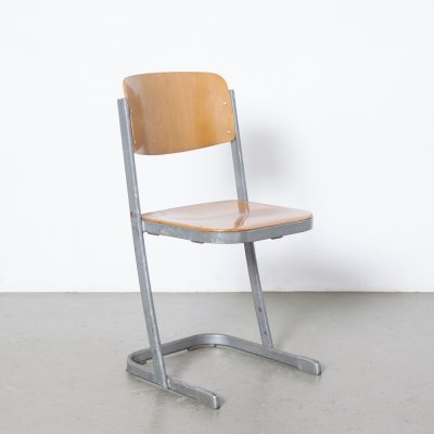 U-Vorm Stacking School Chair by Conen, 1970s