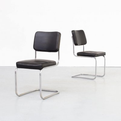 Pair of Mart Stam cantilever chairs for Mauser Waldeck, 1950s