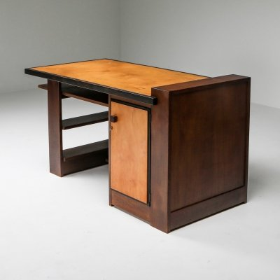 Modernist Desk by H. Wouda for Pander, 1930's