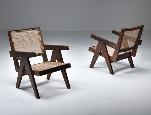 Jeanneret 'easy chair', Chandigarh 1960's
