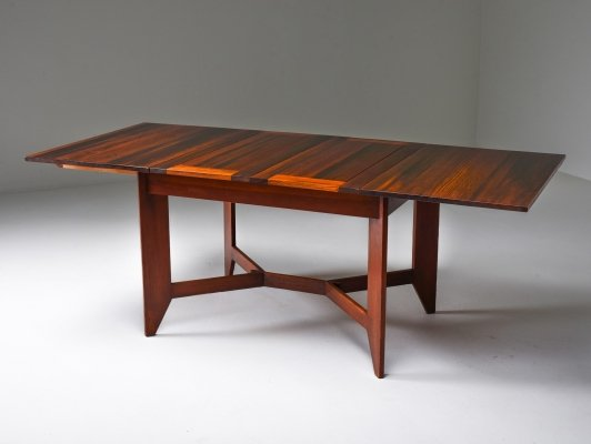 Modernist Dining Table by H. Wouda, 1930's