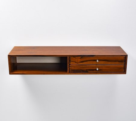 Kai Kristiansen large wall console 'Model 132' in rosewood, 1950's