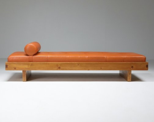 Charlotte Perriand daybed from Méribel Les Allues for the Hotel Le Grand Coeur, 1950s