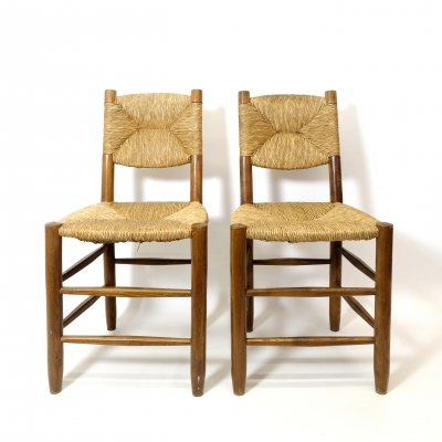 Pair of n°19 chairs by Charlotte Perriand, 1939