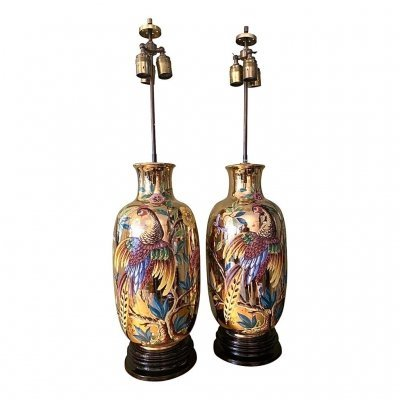 Set of Italian Table Lamps, 1960s