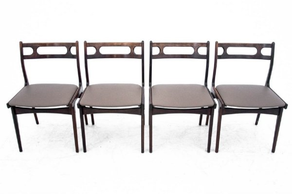 Set of 4 dining chairs, Denmark 1960s