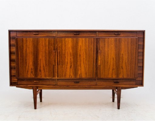 Rosewood Highboard, Denmark 1960s