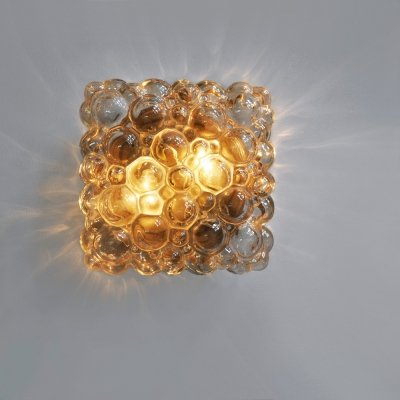 1960s Bubble wall lamp by Helena Tynell for Limburg Glashütte, Germany