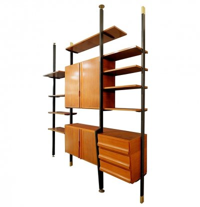 Italian Floor To Ceiling Wall Unit