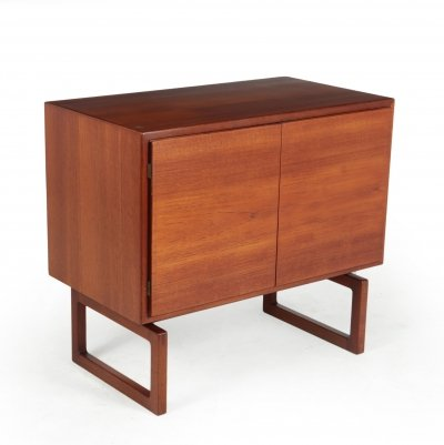 Danish Modern two door Teak MK511 Sideboard by Mogens Kold