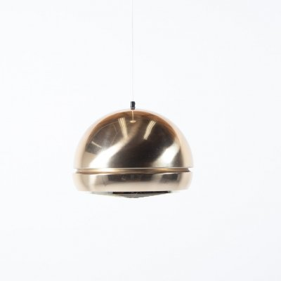 Mid- Century golden pendant lamp, Sweden