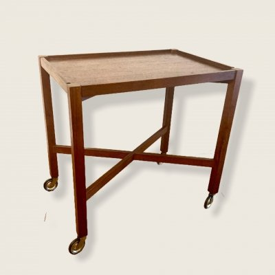 Serving trolley by Jindrich Halabala for UP Zavody, 1930s
