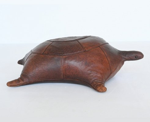 Dimitri Omersa turtle foot stool by Abercrombie & Fitch, United Kingdom 1960