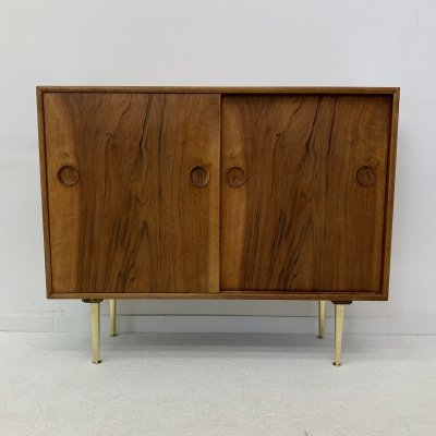 William Watting for Fristho cabinet with brass legs, 1950's