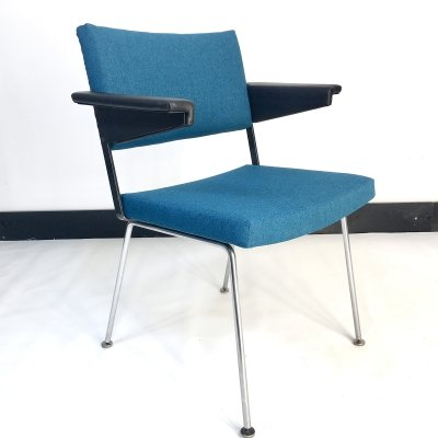 Set of 4 Gispen 1265 chairs by André Cordemeyer, 1960s