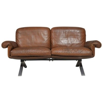 Vintage de Sede DS 31 leather sofa, Switzerland 1970s