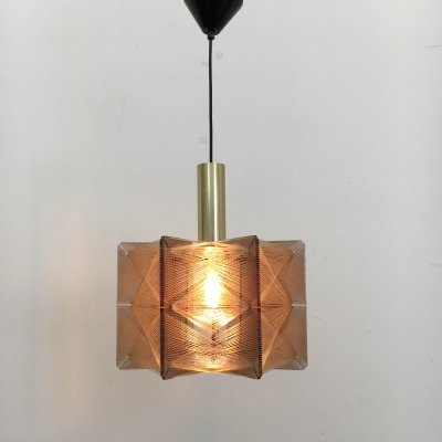 Paul Secon for Sompex hanging lamp, 1960's
