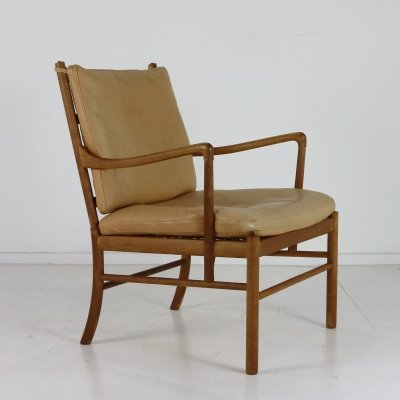 Ole Wanscher 'Colonial' chair by Poul Jeppesen Denmark