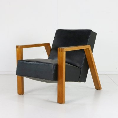 Dutch design A-20 lounge chair by Groep& (Hein Stolle) for Goed Wonen
