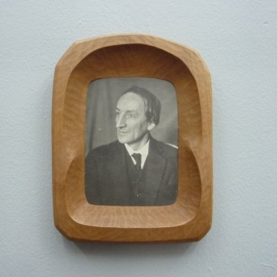Anthroposophical Limewood Picture Frame by Fritz Schuy, 1920s