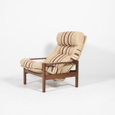 Vintage Danish design lounge armchair, 1960's