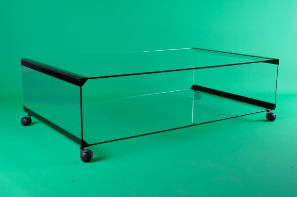 Italian Coffee Table 'George' by Pierangelo Galotti for Galotti & Radice