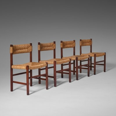 Ash & Rush 'Dordogne' dining Chairs, France 1960's
