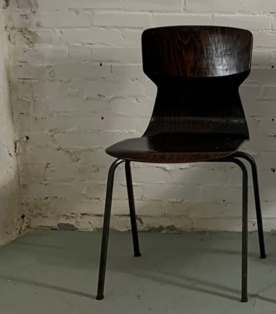 15 Rosewood Chairs by Eromes, 1960s