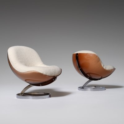 Boris Tabacoff 'Sphere' chairs, France 1971