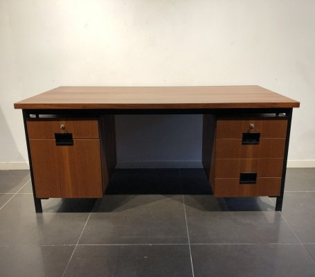 Freestanding 'EU02' Writing Desk by Cees Braakman for Pastoe, 1960s