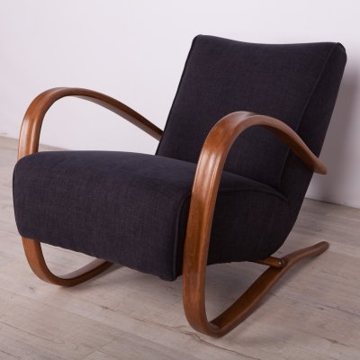 H-269 Lounge Chair by Jindřich Halabala for UP Závody, 1930s