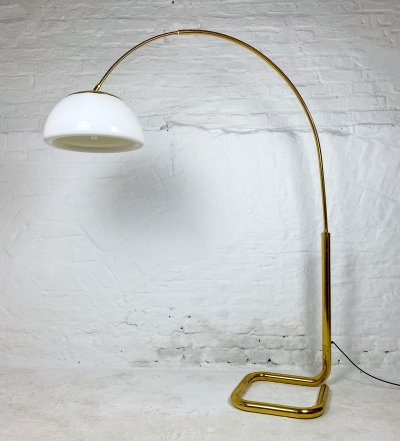 Vintage Brass Arc Lamp by Cosack, 1970s