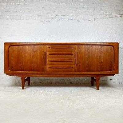 Danish Teak Sideboard by Johannes Andersen for C.F. Christensen Silkeborg, 1960s