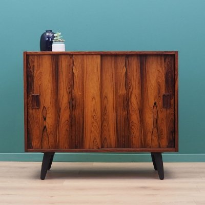 Rosewood cabinet by Niels J. Thorsø, Denmark 1970s