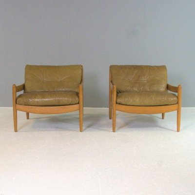 Set of 2 Lounge chairs by Carl Straub, Germany 1970s
